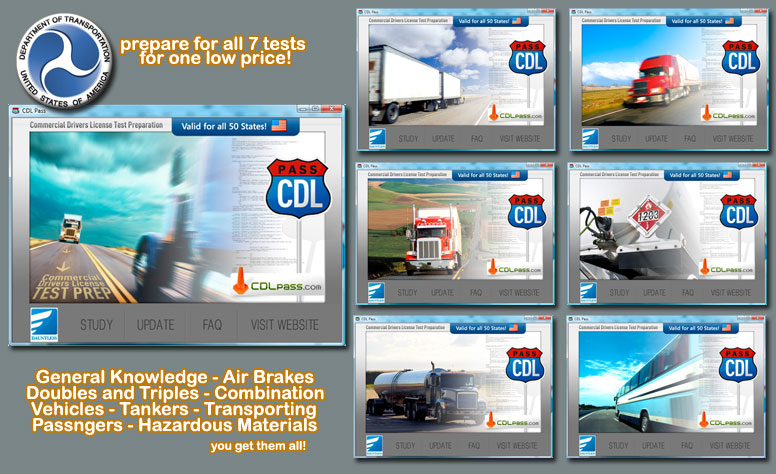 CDLPass - Inexpensive, Fast, and Effective CDL Permit Test Preparation